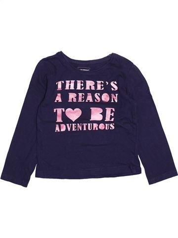 T-shirt manches longues fille PRIMARK bleu 5 ans hiver #1493853_1