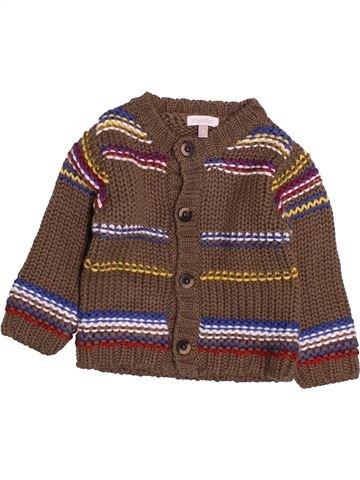Chaleco niño ABSORBA marrón 9 meses invierno #1493902_1