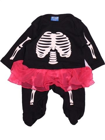 Pyjama 1 pièce fille STAR CLOTHING noir 3 mois été #1493965_1