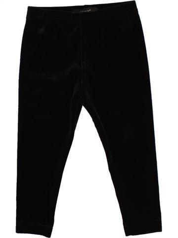 Legging fille MARKS & SPENCER noir 18 mois hiver #1493978_1
