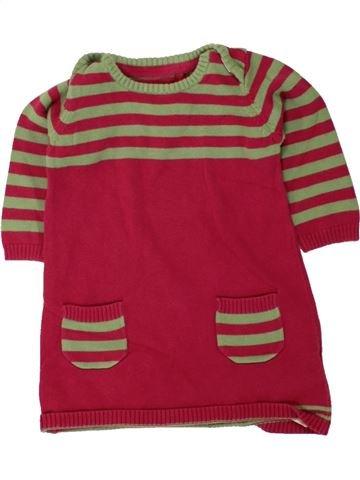 Robe fille MARKS & SPENCER rouge 6 mois hiver #1493989_1