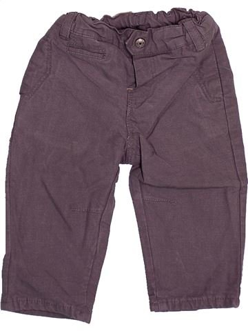 Pantalon garçon OKAIDI gris 6 mois hiver #1494159_1