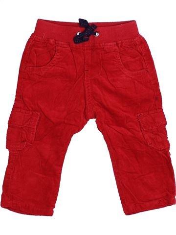 Pantalon garçon TAPE À L'OEIL rouge 6 mois hiver #1494164_1