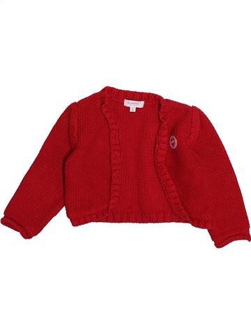 Chaleco niña ALPHABET rojo 12 meses invierno #1494227_1