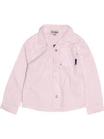 Camisa de manga larga niño KIMBALOO blanco 3 años invierno #1494252_1