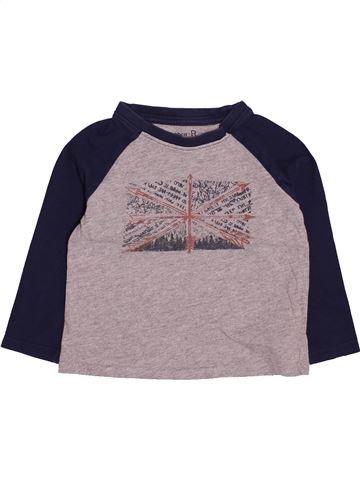 Camiseta de manga larga niño LA REDOUTE CRÉATION violeta 3 años invierno #1494263_1