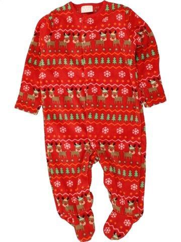Robe de chambre garçon F&F rouge 6 mois hiver #1494323_1