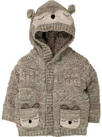 Veste garçon GEORGE gris 6 mois hiver #1494377_1