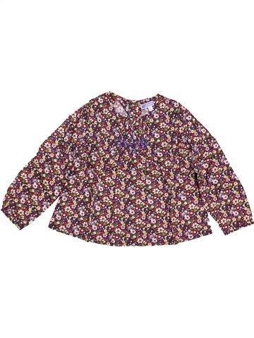 Blouse manches longues fille JACADI violet 3 ans hiver #1494382_1