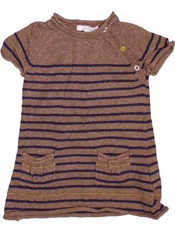 Túnica niña OKAIDI violeta 12 meses invierno #1494497_1
