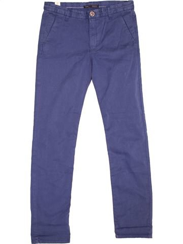 Pantalón niño IKKS azul 12 años invierno #1494537_1