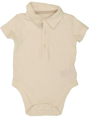 Polo de manga corta niño MOTHERCARE beige 6 meses verano #1494578_1
