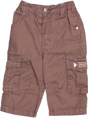 Pantalón niño ORCHESTRA marrón 6 meses verano #1494645_1