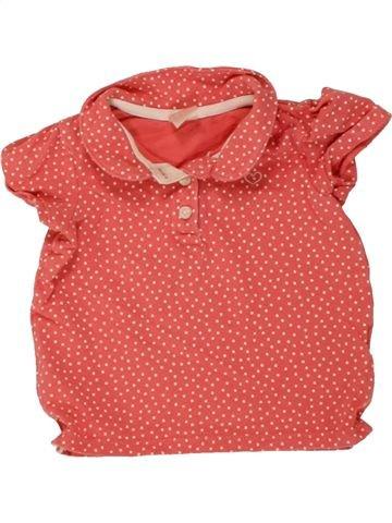 Polo manches courtes fille H&M rose 12 mois été #1494743_1