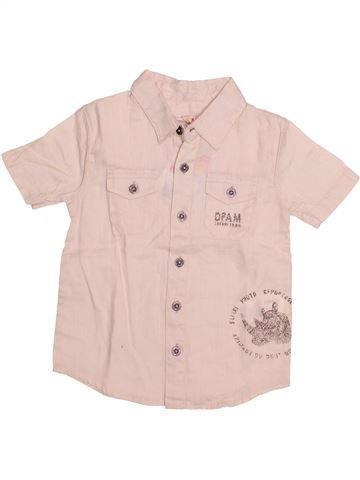 Camisa de manga corta niño DPAM violeta 3 años verano #1494758_1