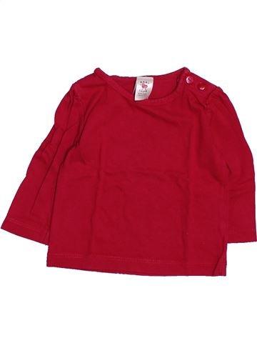 T-shirt manches longues fille C&A rouge 3 mois hiver #1494829_1