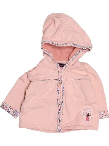 Sweat fille SERGENT MAJOR rose 3 mois hiver #1494840_1