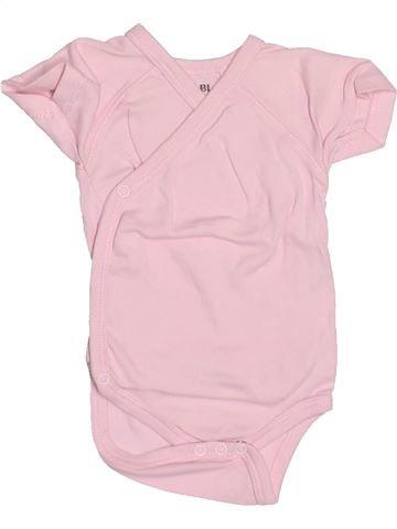 Camiseta de manga corta niña KIABI rosa 3 meses verano #1494860_1