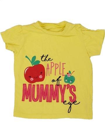 Camiseta de manga corta niña PEP&CO amarillo 18 meses verano #1494895_1