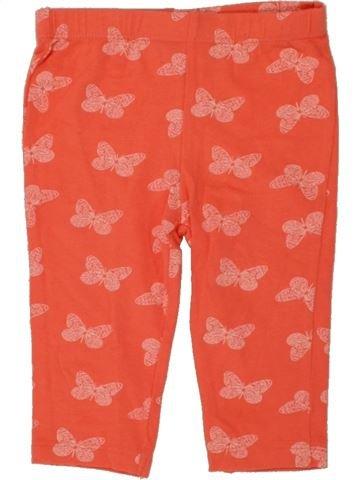 Legging fille F&F orange 6 mois hiver #1494913_1