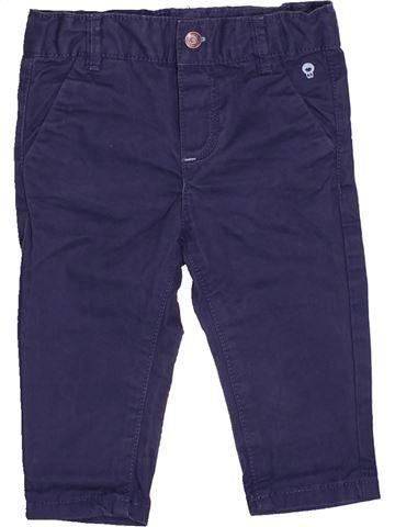 Pantalon garçon OKAIDI bleu 6 mois hiver #1494987_1