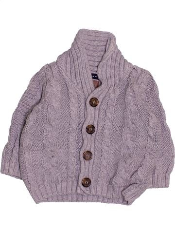 Gilet garçon MINI CLUB gris 3 mois hiver #1495127_1