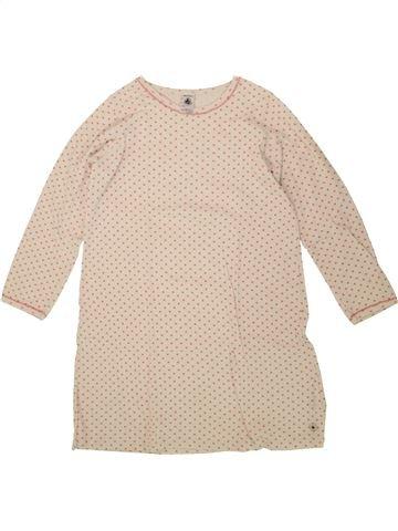 Chemise de nuit fille PETIT BATEAU blanc 8 ans hiver #1495137_1
