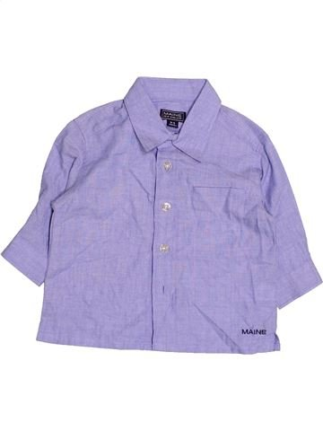 Camisa de manga larga niño DEBENHAMS azul 6 meses invierno #1495244_1