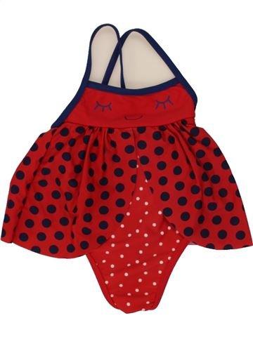 Bañador niña DPAM rojo 12 meses verano #1495332_1