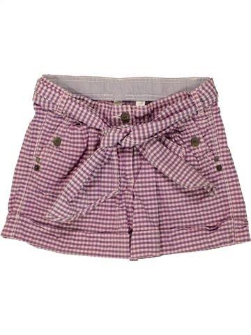 Short - Bermuda fille OKAIDI violet 9 ans été #1495416_1