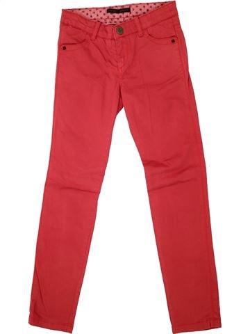 Pantalón niña IKKS rojo 10 años invierno #1495417_1