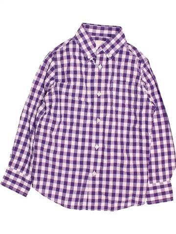 Camisa de manga larga niño CREWCUTS violeta 7 años invierno #1495436_1