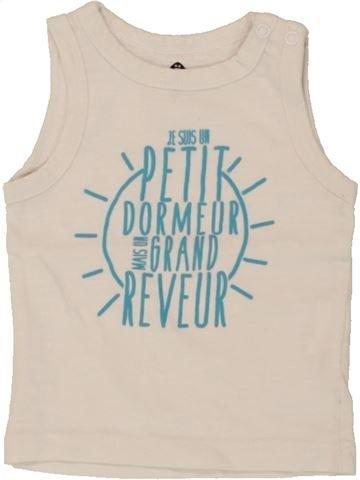 Top - Camiseta de tirantes niño GRAIN DE BLÉ azul 3 meses verano #1495464_1