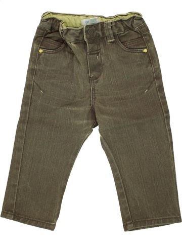 Pantalon garçon OKAIDI vert 12 mois hiver #1495496_1