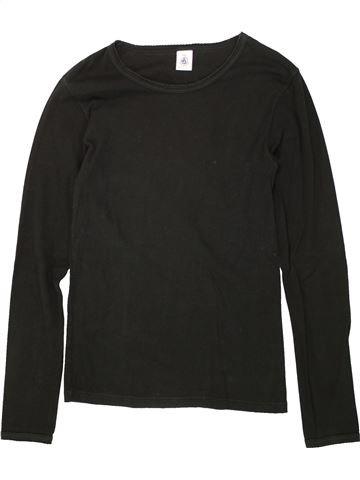 Camiseta de manga larga niña PETIT BATEAU negro 16 años invierno #1495619_1