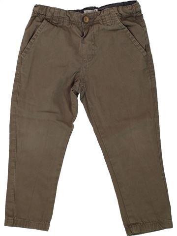Pantalón niño BOUT'CHOU marrón 6 meses invierno #1496018_1