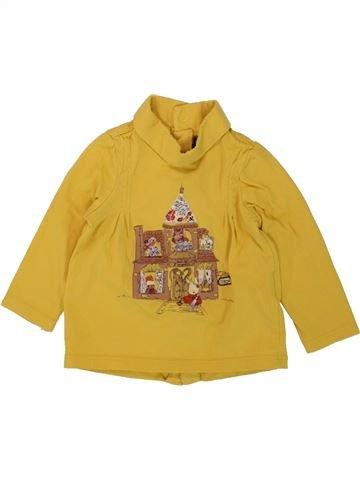 Camiseta de cuello alto niña SERGENT MAJOR amarillo 9 meses invierno #1496098_1