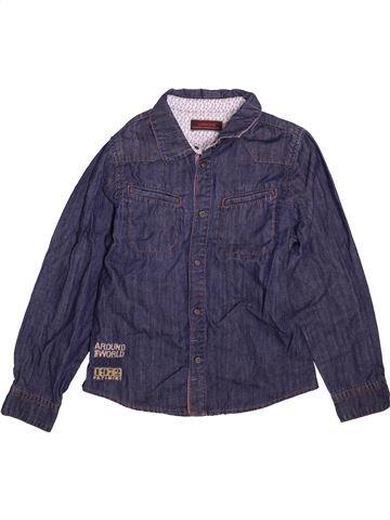 Chemise manches longues garçon CATIMINI bleu 8 ans hiver #1496143_1