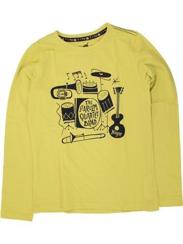 T-shirt manches longues garçon SERGENT MAJOR jaune 12 ans hiver #1496155_1