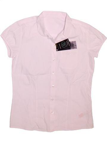 Blusa de manga corta niña F&F blanco 11 años verano #1496163_1