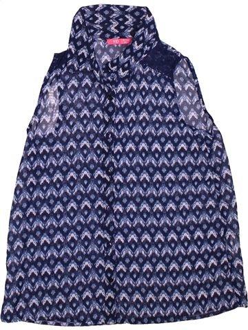 Blusa de manga corta niña PRIMARK azul 11 años verano #1496190_1