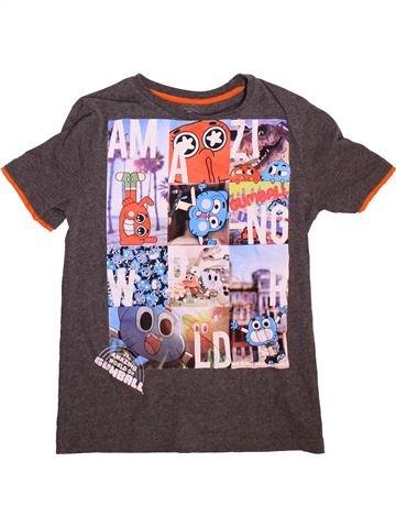 T-shirt manches courtes garçon NUTMEG violet 11 ans été #1496196_1