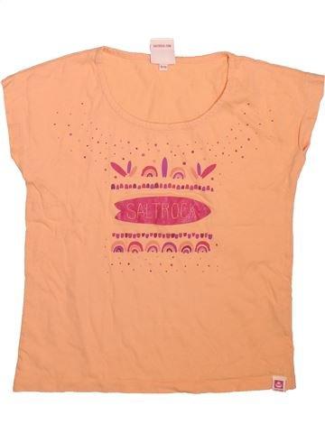 Camiseta de manga corta niña SALTROCK beige 10 años verano #1496228_1