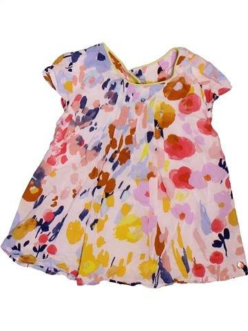 Blusa de manga corta niña MARKS & SPENCER rosa 12 meses verano #1496257_1