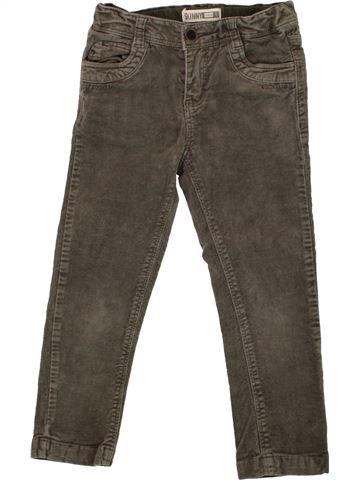 Pantalon fille OKAIDI vert 6 ans hiver #1496385_1