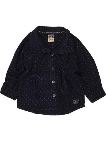 Chemise manches longues garçon TAPE À L'OEIL noir 9 mois hiver #1496467_1