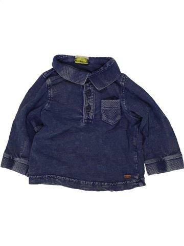 Polo de manga larga niño TAPE À L'OEIL azul 9 meses invierno #1496491_1