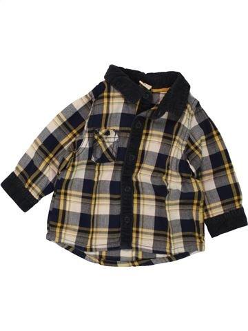 Camisa de manga larga niño TAPE À L'OEIL marrón 6 meses invierno #1496502_1