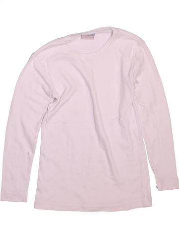 T-shirt manches longues garçon IN EXTENSO blanc 8 ans hiver #1496539_1