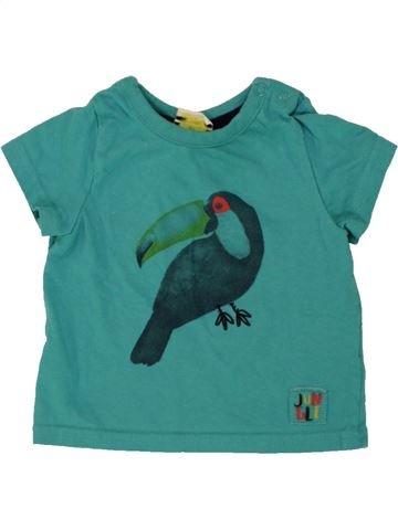 T-shirt manches courtes garçon TAPE À L'OEIL vert 6 mois été #1496559_1